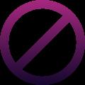 moderazione icona